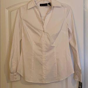 NWT! Inc white blouse 4